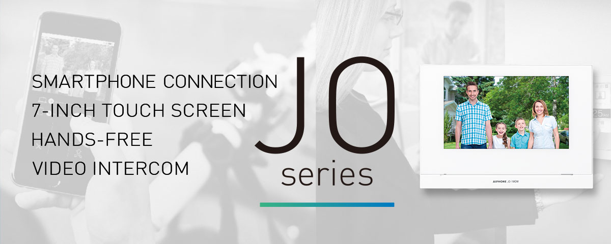 JO Series, HANDS-FREE VIDEO INTERCOM 7-INCH TOUCH SCREEN